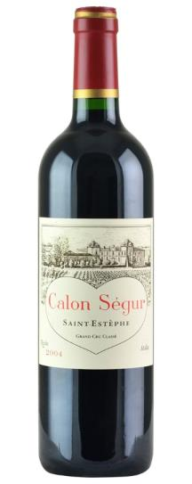 2004 Calon Segur Bordeaux Blend