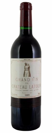1989 Chateau Latour Bordeaux Blend