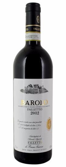 2012 Bruno Giacosa Barolo Falletto