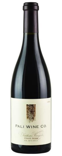 2012 Pali Wine Company Pinot Noir  Sta. Rita Hills Fiddlestix Vineyard