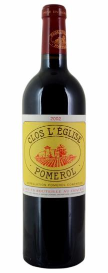 2002 Clos l'Eglise Bordeaux Blend