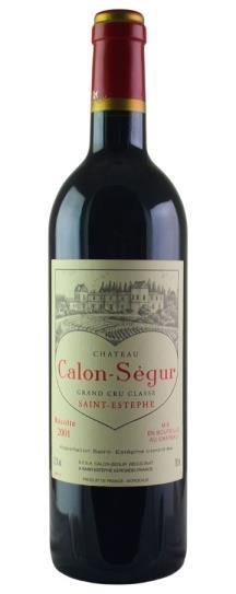 2001 Calon Segur Bordeaux Blend