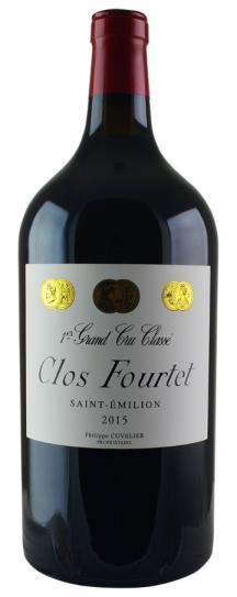 2015 Clos Fourtet Clos Fourtet