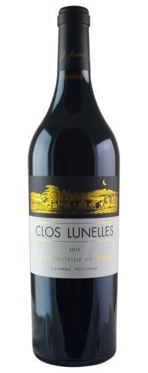 2015 Clos les Lunelles Bordeaux Blend