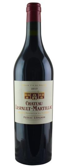 2015 Lespault Martillac Bordeaux Blend
