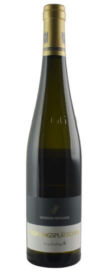 2014 Weingut Schafer-Frohlich Monzinger Fruhlingsplatzchen Riesling Grosses Gewaechs
