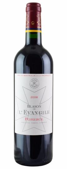 2008 L'Evangile Blason de L'Evangile