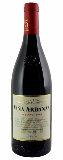 2008 La Rioja Alta Vina Ardanza Reserva