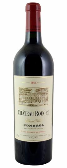 2013 Rouget Bordeaux Blend