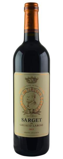 2016 Sarget de Gruaud Larose Bordeaux Blend