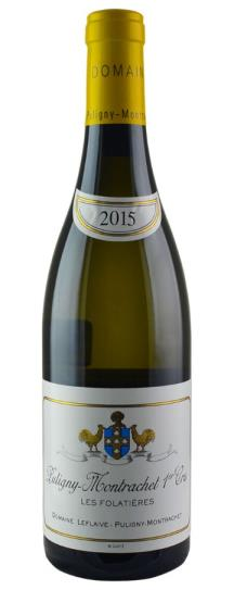 2015 Domaine Leflaive Puligny Montrachet les Folatieres