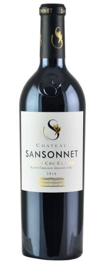 2018 Sansonnet Bordeaux Blend