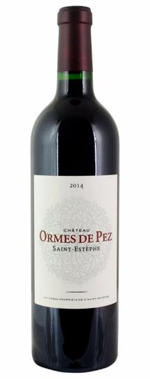 2018 Les Ormes de Pez Bordeaux Blend