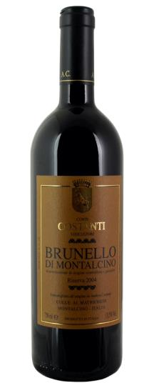2004 Conti Costanti Brunello di Montalcino Riserva