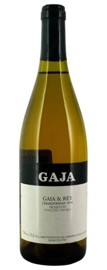 1994 Gaja Chardonnay Gaia and Rey