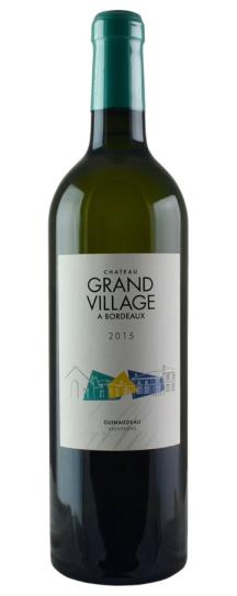 2015 Chateau Grand Village Blanc