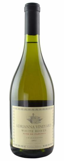2012 Catena Zapata, Bodegas Chardonnay White Bones