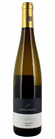 2014 Weingut Schafer-Frohlich Riesling Spatlese Bockenauer Felseneck (Gold Capsule)