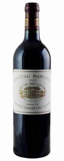 2012 Chateau Margaux Bordeaux Blend