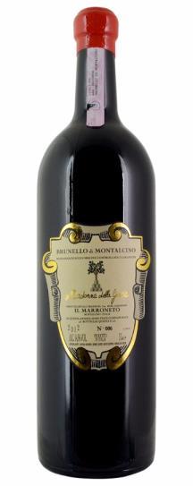 2012 Il Marroneto Brunello di Montalcino Madonna delle Grazie