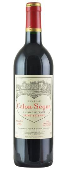 2000 Calon Segur Bordeaux Blend