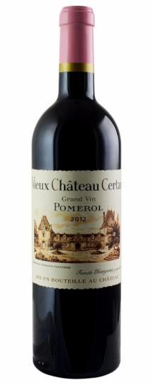 2011 Vieux Chateau Certan Bordeaux Blend