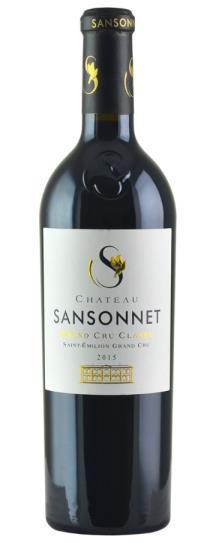 2015 Sansonnet Bordeaux Blend