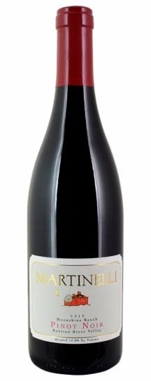 2019 Martinelli Pinot Noir Moonshine Ranch