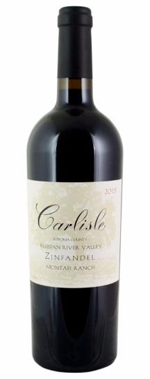 2015 Carlisle Winery Zinfandel Montafi Ranch Russian River Valley