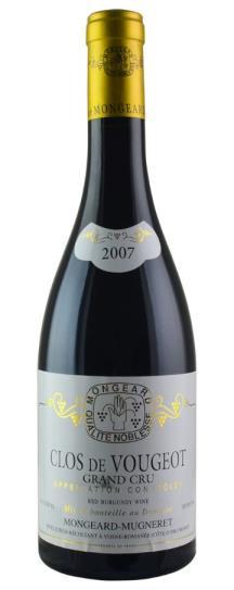 2007 Domaine Mongeard-Mugneret Clos de Vougeot