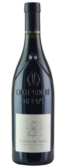 2007 Domaine Roger Sabon Chateauneuf du Pape le Secret de Sabon