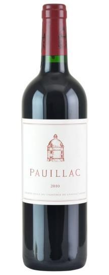 2010 Pauillac de Chateau Latour Bordeaux Blend
