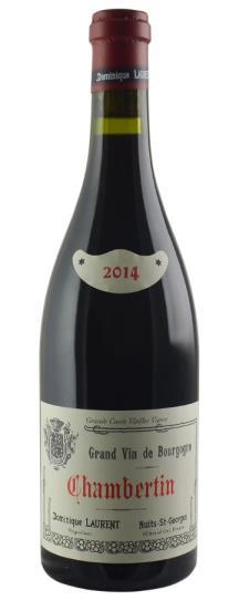 2014 Dominique Laurent Chambertin Grand Cru Vieilles Vignes