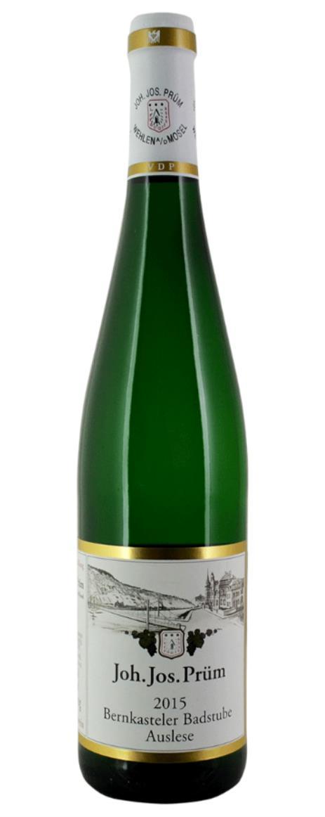 Buy 2015 prum joh jos riesling auslese bernkasteler for Prum turen preisliste 2015