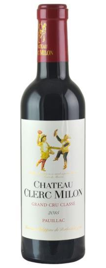 2015 Clerc Milon Bordeaux Blend