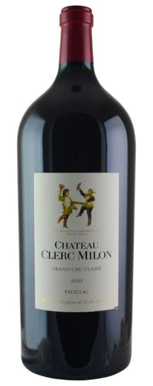 2015 Clerc Milon Bordeaux Blend