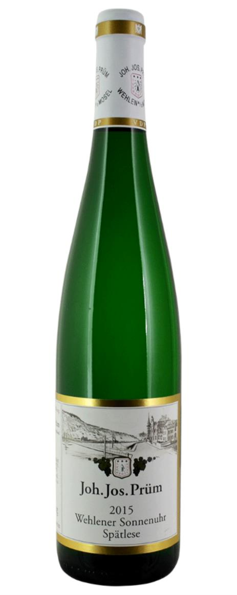 Buy 2015 joh jos prum wehlener sonnenuhr riesling auslese for Prum turen preisliste 2015