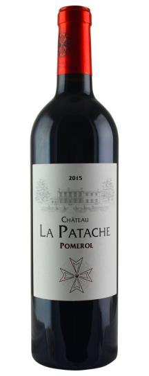 2015 La Patache Bordeaux Blend