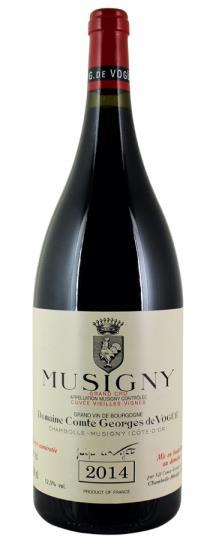 2014 Domaine Comte Georges de Vogue Musigny Vieilles Vignes
