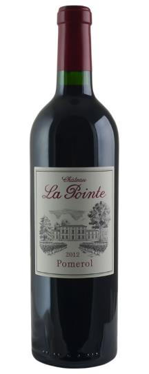 2012 La Pointe Bordeaux Blend