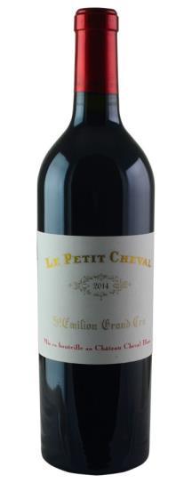 2014 Le Petit Cheval Bordeaux Blend