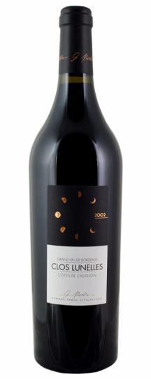 2002 Clos les Lunelles Bordeaux Blend