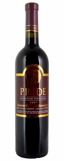 2003 Pride Mountain Vineyards Cabernet Sauvignon Reserve