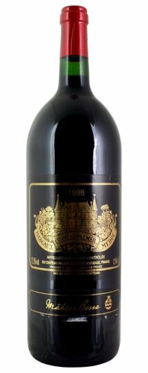 1998 Chateau Palmer Bordeaux Blend