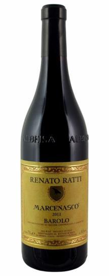 2011 Renato Ratti Barolo Marcenasco
