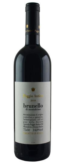 2010 Poggio Antico Brunello di Montalcino