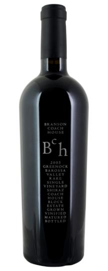 2005 Branson Wines Shiraz Coach House Single Vineyard