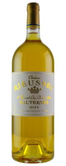 2015 Rieussec Sauternes Blend