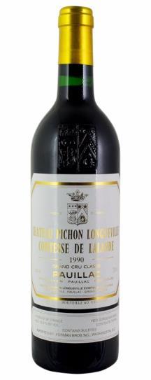 1988 Pichon-Longueville Comtesse de Lalande Bordeaux Blend