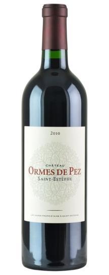 2010 Les Ormes de Pez Bordeaux Blend